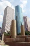 Im Stadtzentrum gelegenes Houston Texas Stockfotos