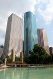 Im Stadtzentrum gelegenes Houston Texas Lizenzfreie Stockbilder