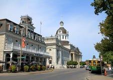 Im Stadtzentrum gelegenes Kingston lizenzfreie stockfotos