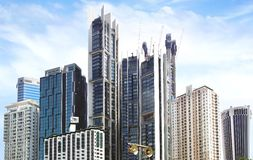 Im Stadtzentrum gelegenes Kuala Lumpur Lizenzfreie Stockfotos