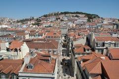 Im Stadtzentrum gelegenes Lissabon lizenzfreie stockfotos