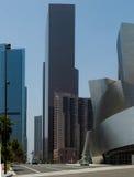 Im Stadtzentrum gelegenes Los Angeles Lizenzfreie Stockbilder