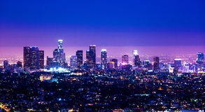 Im Stadtzentrum gelegenes Los Angeles #41 Stockbilder