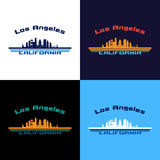 Im Stadtzentrum gelegenes Los Angeles #41 stock abbildung