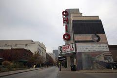 Im Stadtzentrum gelegenes Louisville, Kentucky stockfotos