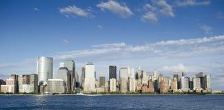 Im Stadtzentrum gelegenes Manhattan Lizenzfreie Stockbilder
