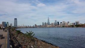 Im Stadtzentrum gelegenes Manhattan Lizenzfreies Stockbild