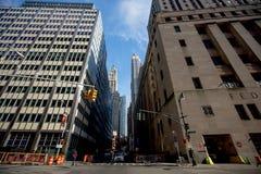 Im Stadtzentrum gelegenes Manhattan Stockbilder