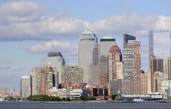 Im Stadtzentrum gelegenes Manhattan New York stockbild