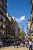 Im Stadtzentrum gelegenes Mexiko City Stockfotos