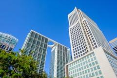 Im Stadtzentrum gelegenes Miami lizenzfreie stockbilder