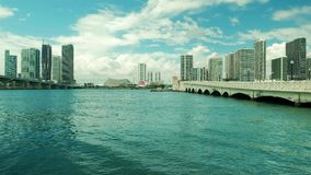 Im Stadtzentrum gelegenes Miami-Video stock video