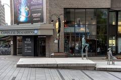 Im Stadtzentrum gelegenes Montreal lizenzfreies stockbild