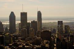 Im Stadtzentrum gelegenes Montreal Lizenzfreies Stockfoto