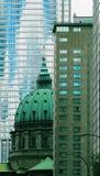 Im Stadtzentrum gelegenes Montreal Stockbilder