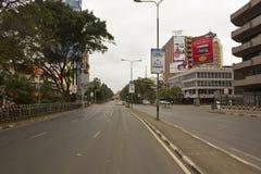 Im Stadtzentrum gelegenes Nairobi Lizenzfreies Stockfoto