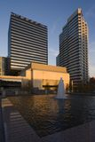 Im Stadtzentrum gelegenes Nashville lizenzfreie stockfotografie