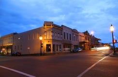Im Stadtzentrum gelegenes Natchez Stockfotos