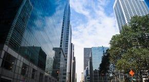 Im Stadtzentrum gelegenes New York City Stockfotografie