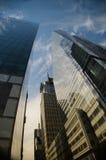 Im Stadtzentrum gelegenes New York City Stockbild