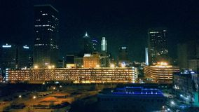 Im Stadtzentrum gelegenes Oklahoma City lizenzfreie stockfotografie