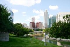 Im Stadtzentrum gelegenes Omaha Stockbilder