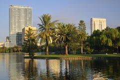 Im Stadtzentrum gelegenes Orlando Lizenzfreies Stockbild
