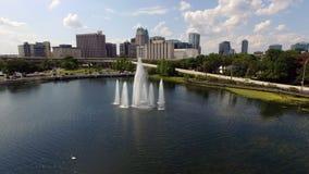 Im Stadtzentrum gelegenes Orlando Stockfoto