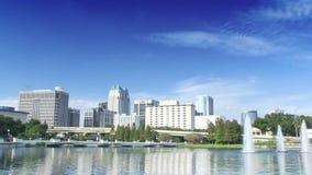 Im Stadtzentrum gelegenes Orlando, Florida stock video
