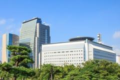Im Stadtzentrum gelegenes Osaka Stockbild