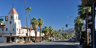 Im Stadtzentrum gelegenes Palm Spring Lizenzfreie Stockfotografie