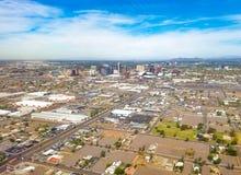 Im Stadtzentrum gelegenes Phoenix, Arizona stockfoto