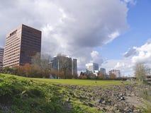 Im Stadtzentrum gelegenes Portland Stockfoto