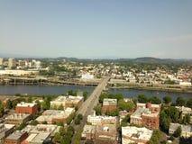 Im Stadtzentrum gelegenes Portland Oregon Lizenzfreie Stockfotos