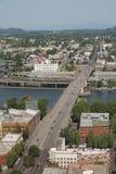 Im Stadtzentrum gelegenes Portland Oregon Stockbild
