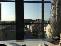 Im Stadtzentrum gelegenes Portsmouth Stockbilder