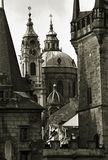Im Stadtzentrum gelegenes Prag stockfotos