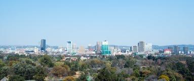 Im Stadtzentrum gelegenes Pretoria, Gauteng, Südafrika lizenzfreies stockbild