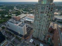 Im Stadtzentrum gelegenes Raleigh im Juni Lizenzfreie Stockfotografie
