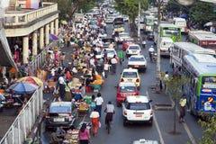 Im Stadtzentrum gelegenes Rangun Stockbild