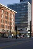 Im Stadtzentrum gelegenes Salt Lake Lizenzfreies Stockbild