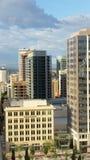 Im Stadtzentrum gelegenes Salt Lake City Lizenzfreies Stockbild
