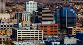 Im Stadtzentrum gelegenes Salt Lake City, Utah Lizenzfreies Stockfoto