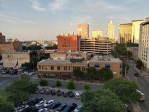 Im Stadtzentrum gelegenes San Antonio Texas Lizenzfreies Stockfoto