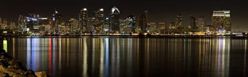 Im Stadtzentrum gelegenes San Diego Stockbild