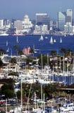 Im Stadtzentrum gelegenes San Diego Lizenzfreies Stockbild