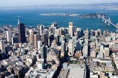 Im Stadtzentrum gelegenes San Francisco Stockfoto