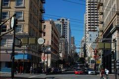 Im Stadtzentrum gelegenes San Francisco Lizenzfreies Stockbild