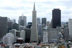 Im Stadtzentrum gelegenes San Francisco Stockbild
