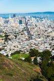 Im Stadtzentrum gelegenes San Francisco Lizenzfreie Stockbilder
